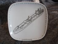 GEGR 1849 Uhlenhorst Sammelteller / Tanker Esso Deutschland / quadratisch - Zeuthen