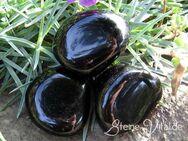 Obsidian, schwarz Trommelstein, Heilstein