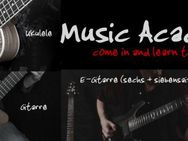Come in and learn to play ... Guitar (7–String, E-Gitarre & Gitarre für Fortgeschrittene)