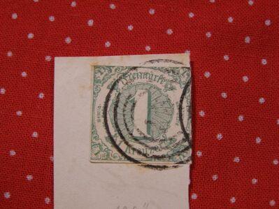 Thurn&Taxis,1 Kreuzer 1859-61,Mi.Nr.,20,  Lot 156 -