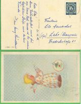 Postkarte Deutsche Post 1946