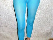Leggings / Sportleggings / Sport / Wäsche / Blau