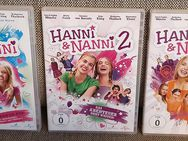 3x DVD Hanni & Nanni Teil 1 bis 3, NEUwertig - Bamberg