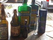 6 schöne deko flaschen