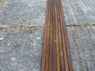 Flach-Eisen, 8x 328 bis 412cm lang, 24x6 mm; Eisen-Profil, Stahl - Bad Belzig