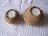 Teelichthalter aus Mango-Holz Nuance Baldur NEU OVP - Saarbrücken