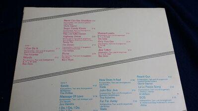 Schallplatte BEE GEES THE RUBETTES ABBA usw.... - Berlin Lichtenberg