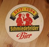Schmiedefeder Bier BD Bierdeckel Bierfilz