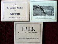 2 alte Andenkenmappen mit tollen Motiven ( Würzburg ist schon verkauft) - Niederfischbach