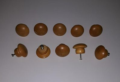 Möbel Griff Knauf Knöpfe 10 Stück Metallgewinde Holz Knopf - Nürnberg
