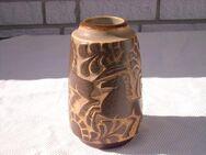 Vase Michael Andersen Design Marianne Starck Bornholm Keramik Studiokeramik Pferde braun 39,- - Flensburg