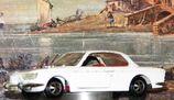 BMW 2000 CS Modellauto von Märklin 1:43 weiss/beige2