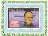 Weihnachtsbriefmarke / Karte aus -Antigua & Barbuda  (240) - Hamburg