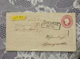 Baden 3 Kreuzer Ganzsachen  Briefumschlag 1865,Lot 83
