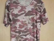 T-Shirt mit Muster, Größe: 40/42 - Immenhausen