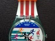 Armbanduhr von Swatch Swiss Atlanta 1996 ungetragen in OVP - Regenstauf