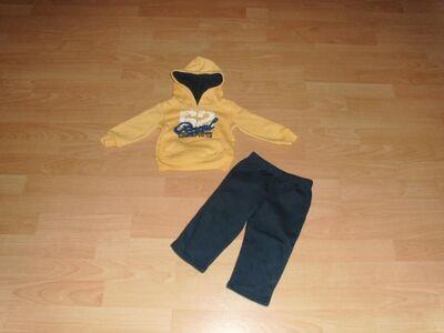 Jogginganzug von Impidimpi, gelb-schwarz Gr. 74/80 REDuziert - Bad Harzburg