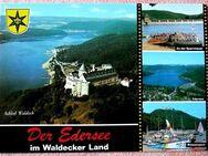 Ansichtskarte Edersee mit Blick auf Schloß Waldeck - Niederfischbach