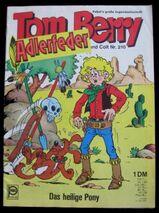 Tom Berry Nr. 210 ( Originalheft von 1972)