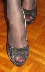 High Heels /peeptoes / Pumps / Schuhe / Damen / gr. 38