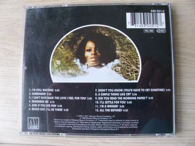 Diana Ross: I'm Still Waiting / Surrender EAN 731453025127 CD Motown 1993, 8,- - Flensburg