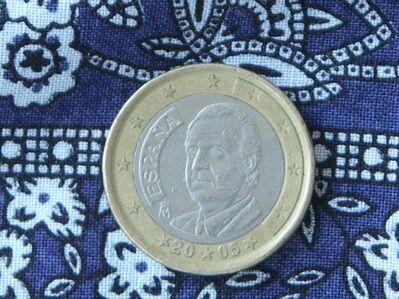1 Euro Spanien 2005 Kursmünze,Lot 96 -