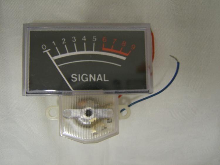 Pegelanzeige für DDR-Tonbandgeräte - Wutha-Farnroda