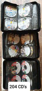 CD/DVD Sammelalben gefüllt