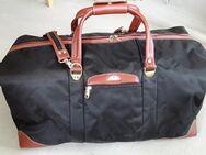 Elegante Reisetasche, Samsonite, schwarz-braun-gold - Eckernförde