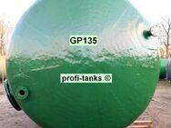 P135 gebrauchter 46.000 L Polyestertank Rapsöltank Molketank Wassertank GFK-Tank Lagerbehälter Regenauffangtank Flüssigfuttertank Melassetank Zisterne - Nordhorn
