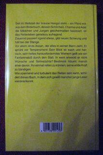 """Schöne Pferdegeschichte """"Assan, der braune Hengst"""" von Adam Maria Antonie in sehr gutem Zustand, J. Richter Verlag, 141 Seiten, stammt aus 1984, ISBN: 3536015875, zum Schutz für weiteren Gebrauch schon eingebunden, 4,- € - Unterleinleiter"""