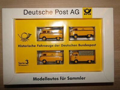 Historische Fahrzeuge DBP, Deutsche Bundespost, Serie 3, 1:87 - Coesfeld