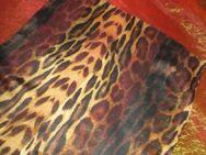 NEU * Animal * Leoparden Print * DESIGNER * Seiden- Chiffon * SCHAL * Hals- TUCH * Scarf * braun- cremé- nude * - Riedlingen Zentrum