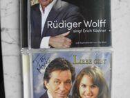 Katharina & Rüdiger Wolff singt Erich Kästner 5 Musik CDs zus. 9,- teilweise signiert + ovp - Flensburg