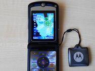 ❤️ Motorola V3i Handy mit Netzteil Speicherkarte ❤️ - Ingolstadt