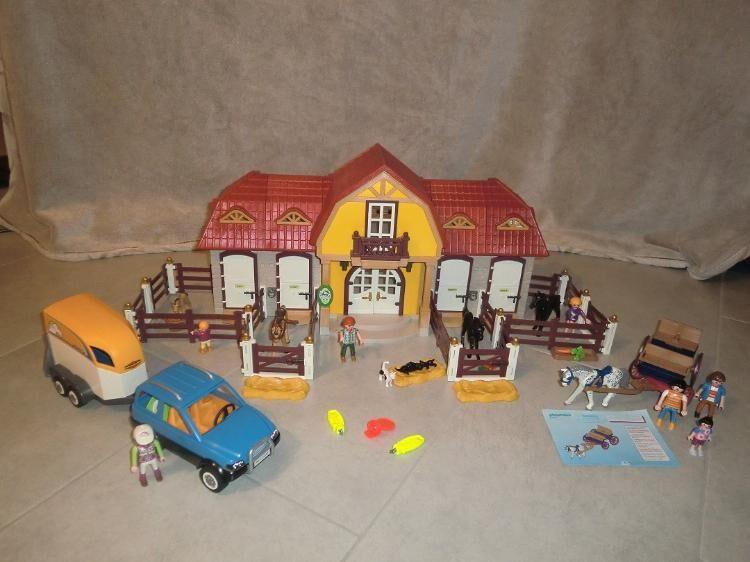 Playmobil großer Reiterhof mit viel Zubehör zu verkaufen - Walsrode