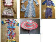 4 Karneval Fasching Kostüme für Kinder 5,00 -12,00 EUR: Indianer, Fee, Exotisches neu und gebraucht / Hut - Krefeld