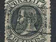 Brasilien 10 Reis 1882 Don Pedro II.,Mi:BR 51a,Lot 1262 - Reinheim