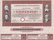 I.G. Farben Industrie Liquidators-Anteilschein 1953 - Bremen