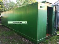 GS11 gebrauchter 40.000 L Stahltank Containertank isoliert mit Heizspirale ehem. Palmoeltank guter Zustand Lagertank Wassertank Lagerbehälter div. Medien