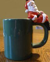 Kaffebecher mit Nikolaus