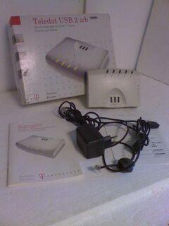 ISDN-Teledat USB 2 a/b, im Neutzustand, ovp. - Simbach (Inn) Zentrum