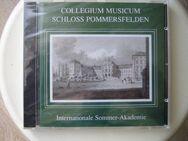 Collegium Musicum Schloss Pommersfelden / Die CD ist noch eingeschweißt - Höchstadt (Aisch)