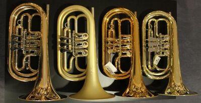 Basstrompete / Bass - Trompete und Bass - Flügelhorn in Bb oder C - Hagenburg