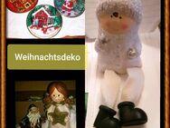 Weihnachtsdeko: 3 Figuren/3 Weihnachtsdeller - Zerbst (Anhalt) Zentrum