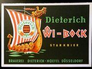 Werbekarte Brauerei Dieterich – Hoefel Düsseldorf - Niederfischbach