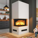 Hajduk Imperial Medium Plus Kaminbausatz Smart 2LXLTh Kamineinsatz 6kW