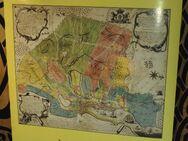 Plakat mit Karte Flensburg 1779, 725 Jahre Flensburg - Flensburg