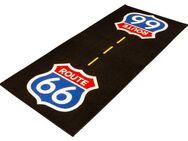 Garagenmatte Route 66 USA Highway Werkstattmatte Fahrerlager - Eschershausen
