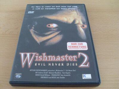 Wishmaster 2: Evil Never Dies Uncut Version Neuware - Kassel